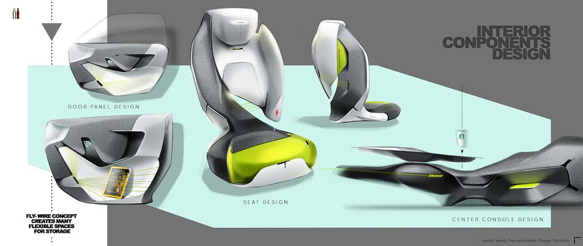 Dodge Dart Interior Design Project Fall 2014 On Ccs Portfolios