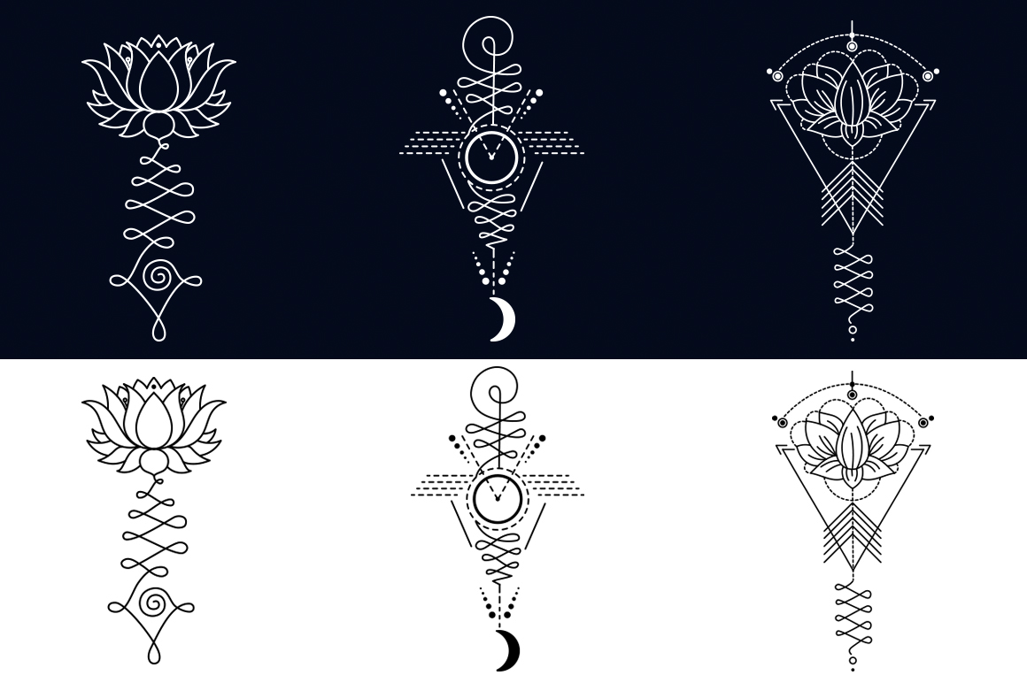 Unalome lotus sacred symbols on behance biocorpaavc Image collections