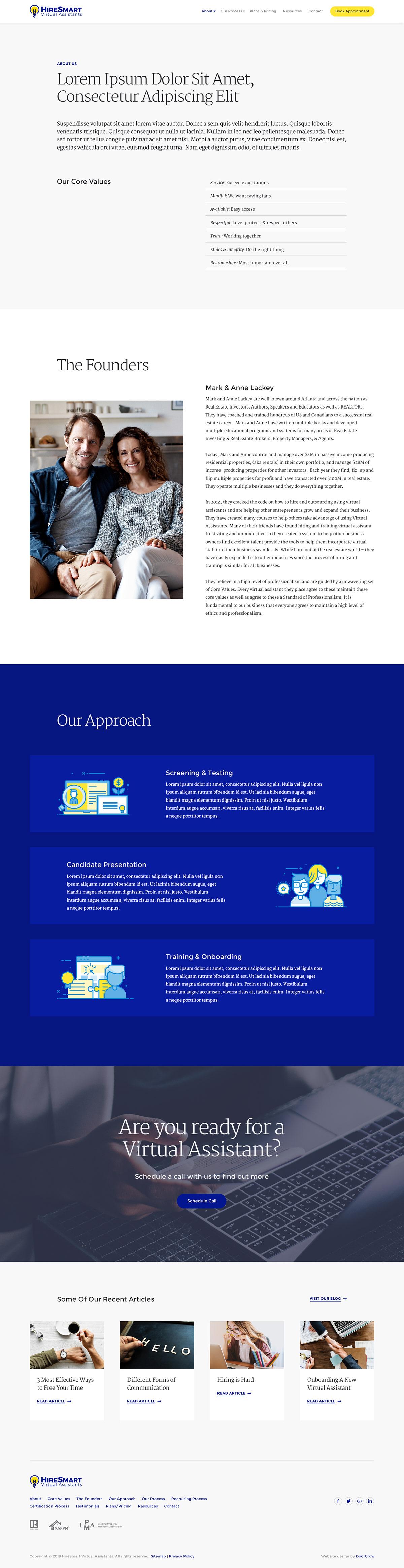 User Experience Design Responsive web design photoshop Illustrator virtual assistants