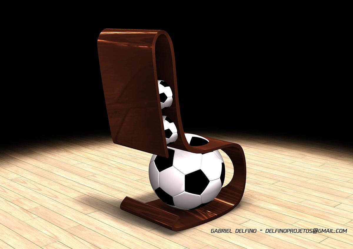 chair Brasil cadeira futebol copa do mundo