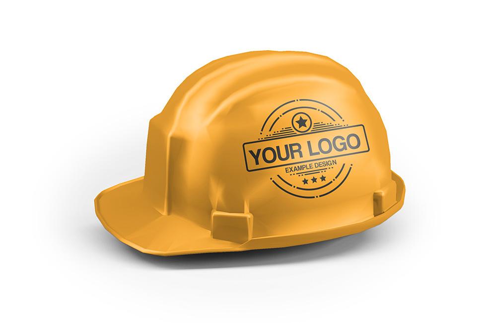 1c166719ff1 Hard Hat Helmet Mockup Generator PSD Template on Behance