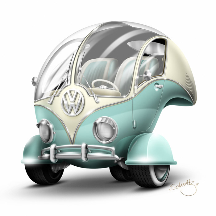 Volkswagen Bubble On Behance