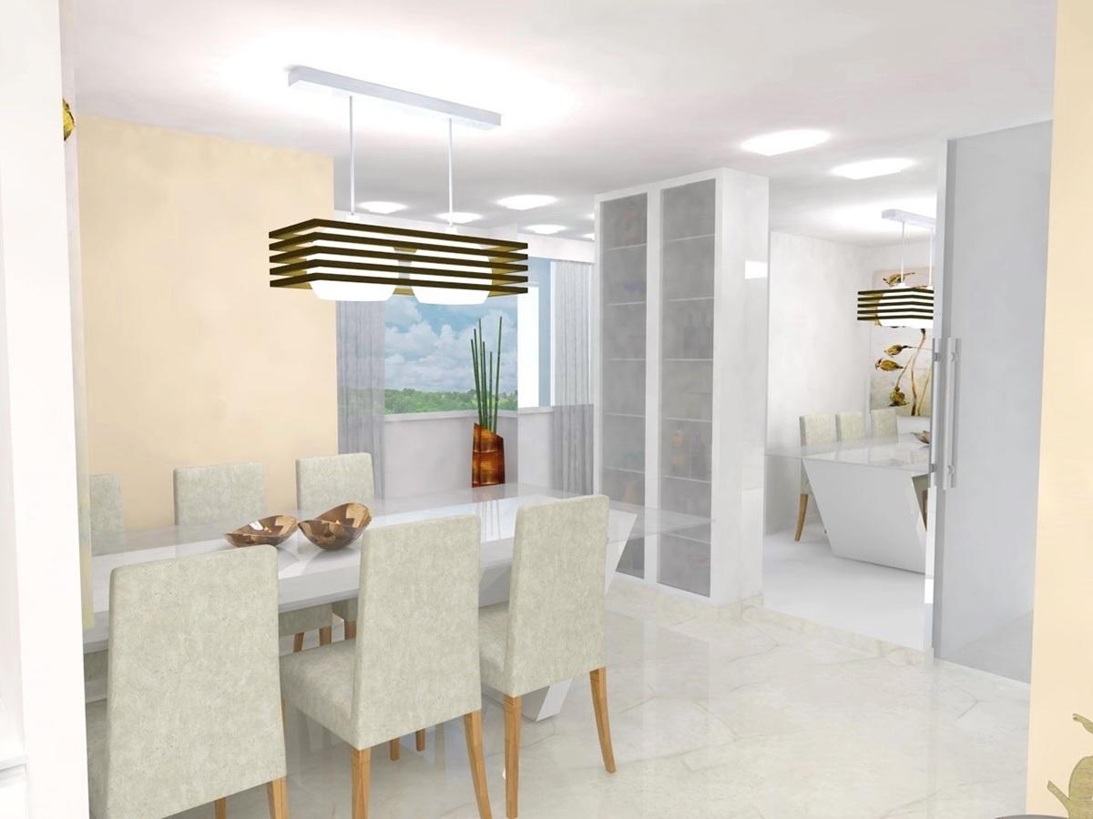 Sala De Estar E Jantar ~ Ambientação  Sala de estar e jantar on Behance