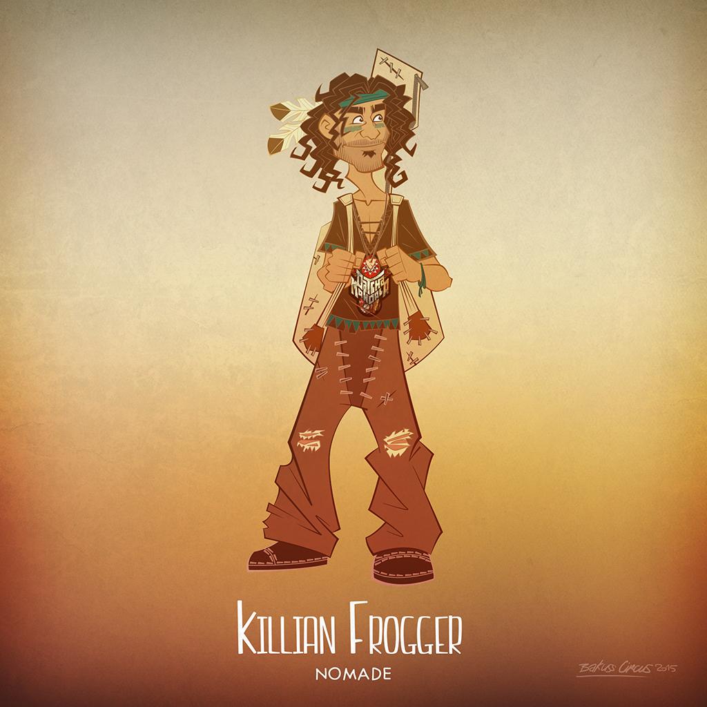 Killian Frogger - bakuss, bakusscircus - bakuss_circus | ello