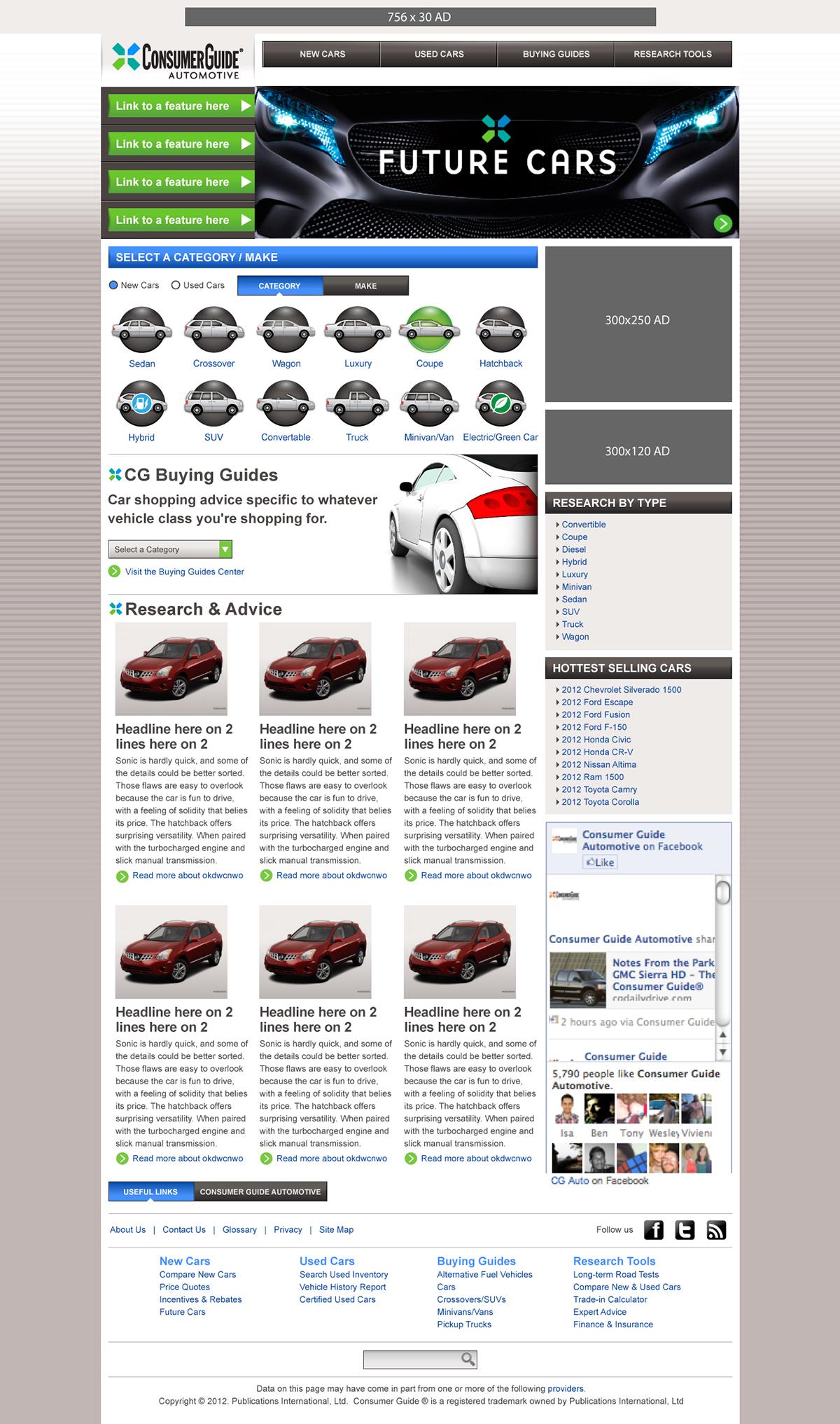 Consumer Website automotive   reviews