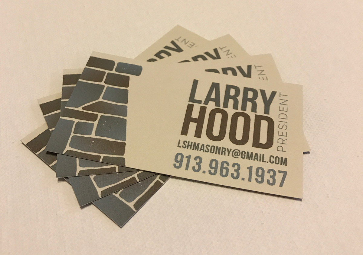 Masonry business cards selol ink masonry business cards reheart Images