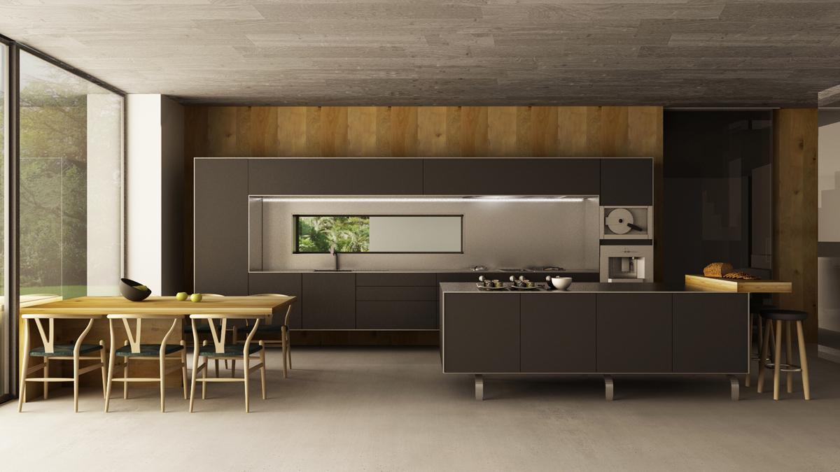 bulthaup rendering on behance. Black Bedroom Furniture Sets. Home Design Ideas