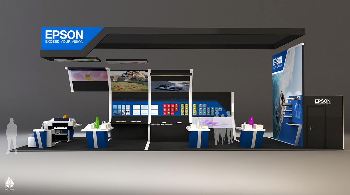 Exhibition Stand Modules : Stand epson salon de la photo paris on behance