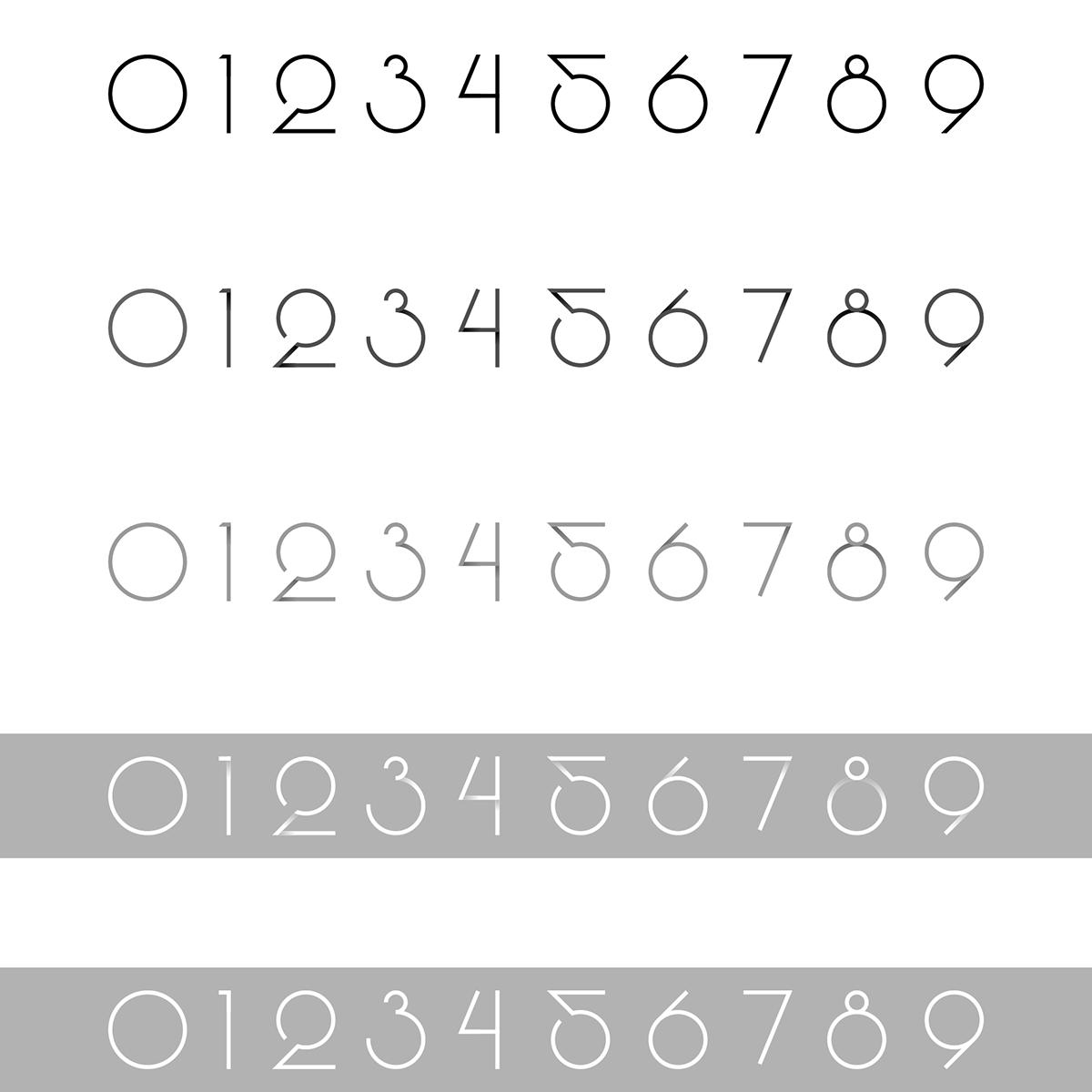 numbers typo font webfont download Free font type fontface geometric geometry