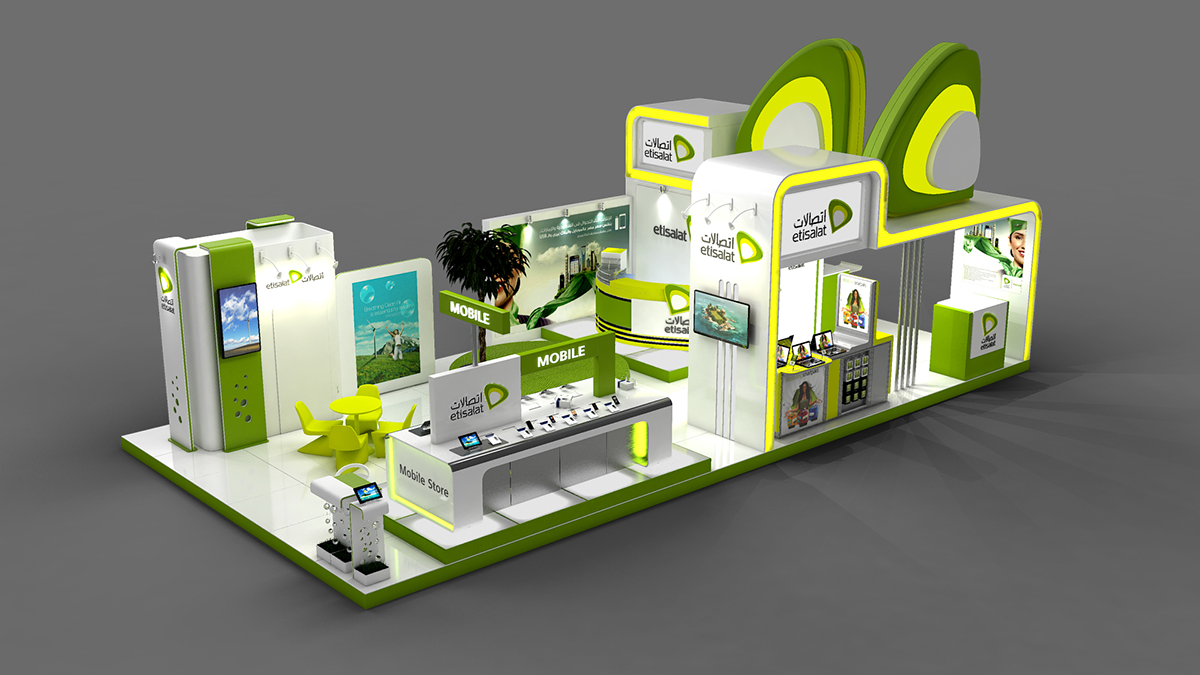 Exhibition Stand Behance : Samsung exhibition stand design on behance