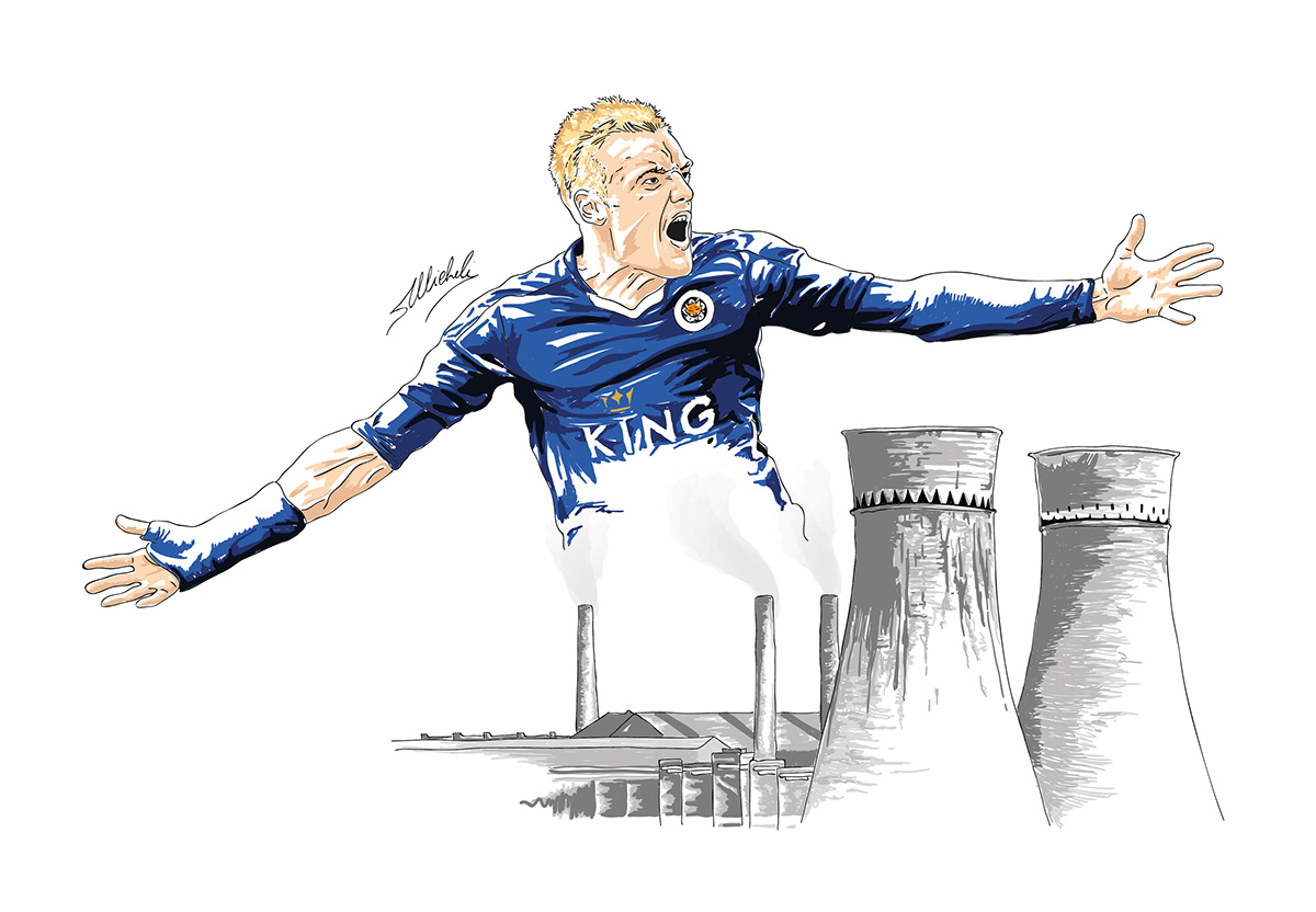 Jamie Vardy, 'The Working Class Hero'