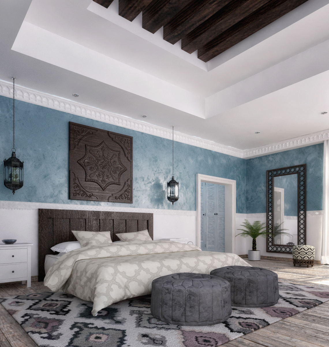 Islamic Master Bedroom On Behance