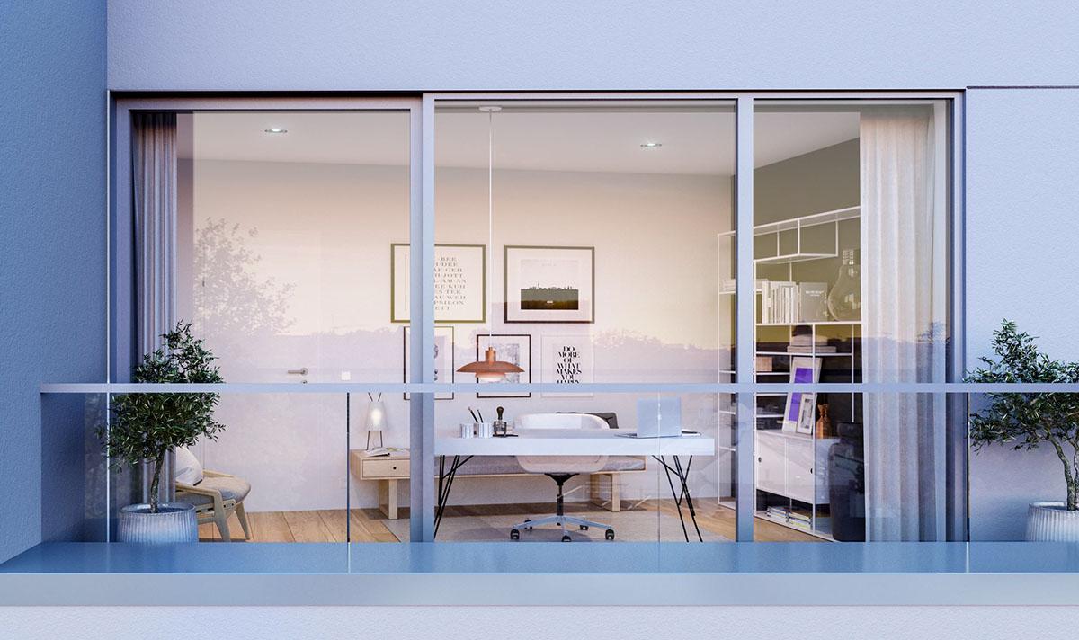 lichtecht hamburg Architekturvisualisierung architecture visalization corona render  3D Visualization Interior