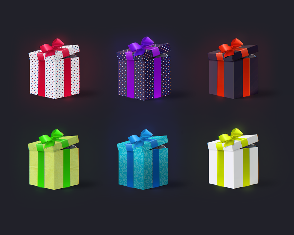 Gift box free mockup fully customizable d on behance facebook cover sample usage negle Gallery