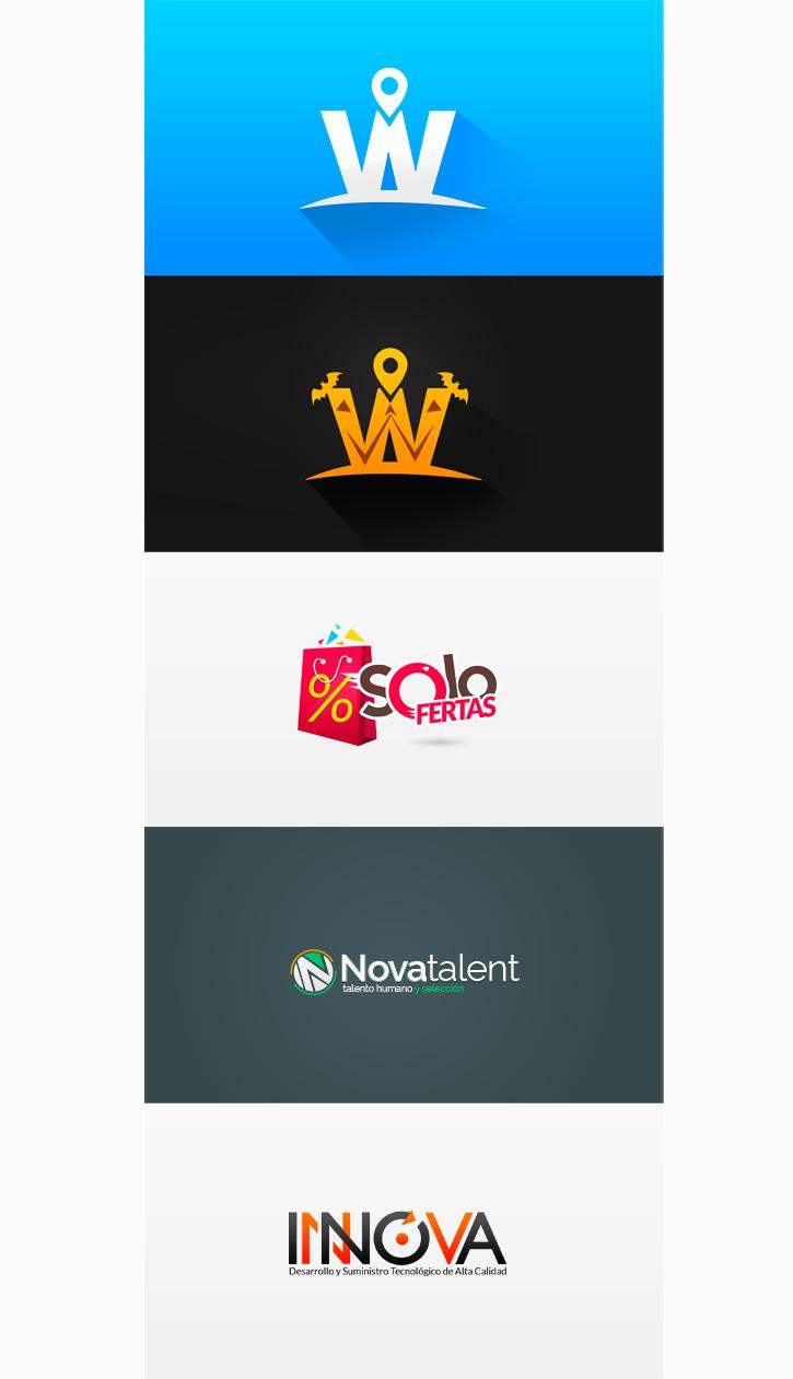 logos Logotipo logo web colors Web