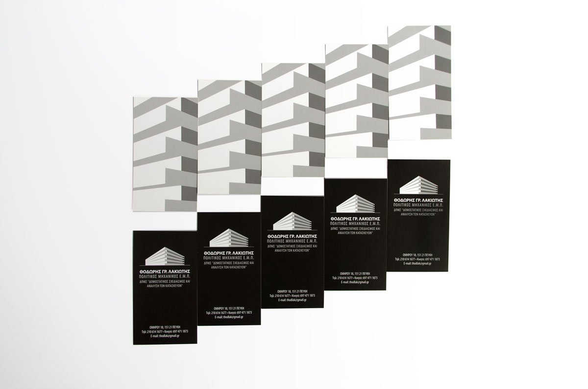civil engineer business card design on behance