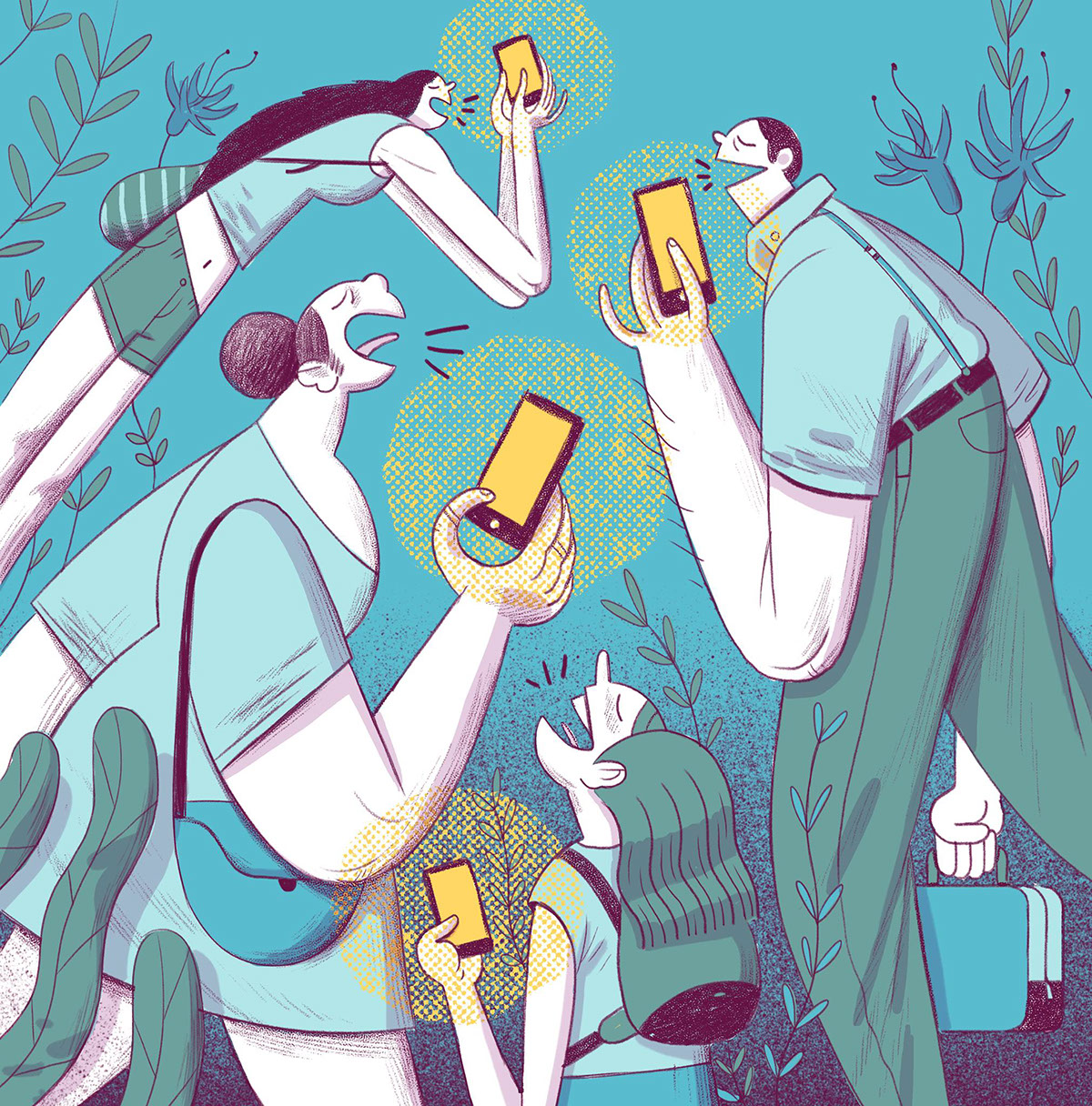 WIRED Magazine Illustrations on Behance