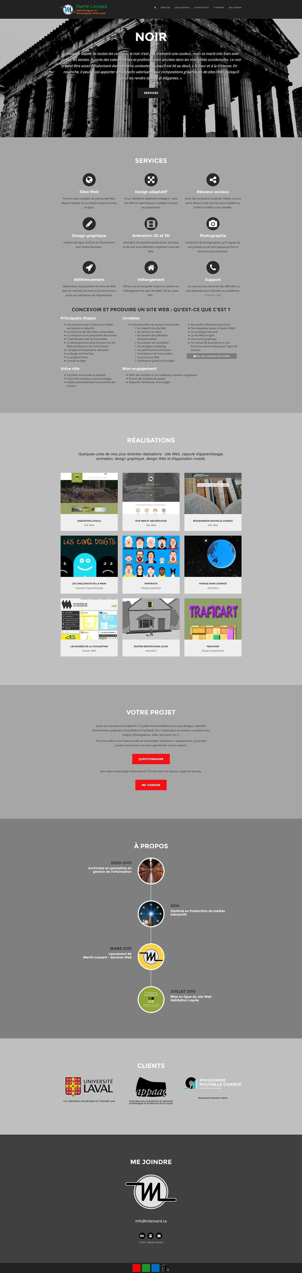 site web design html5 css3 tweeter bootstrap