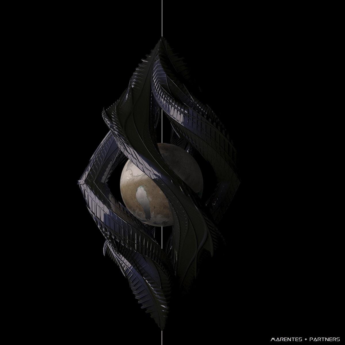 #scfi #conceptart #conceptdesign #star #death #planet #architecture #organic #invaders
