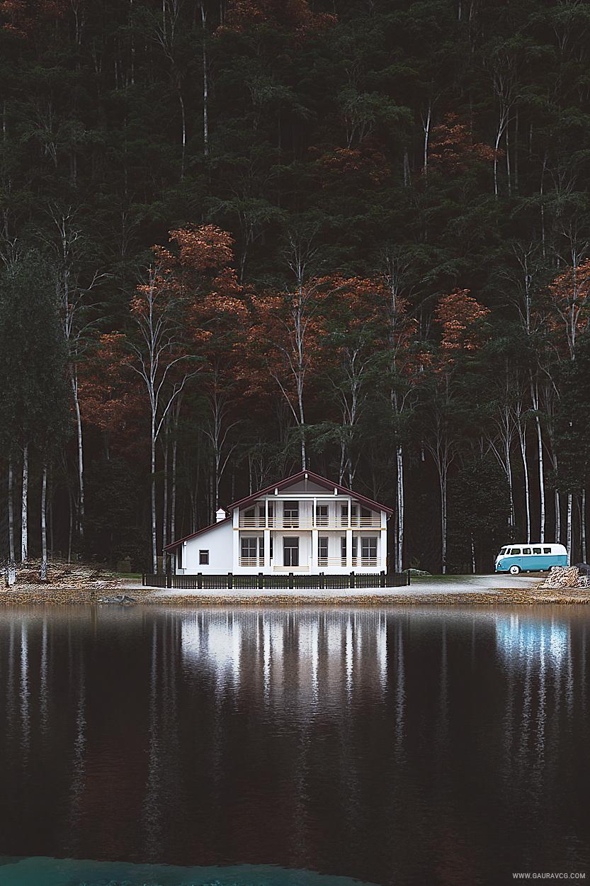 Lake House On Behance
