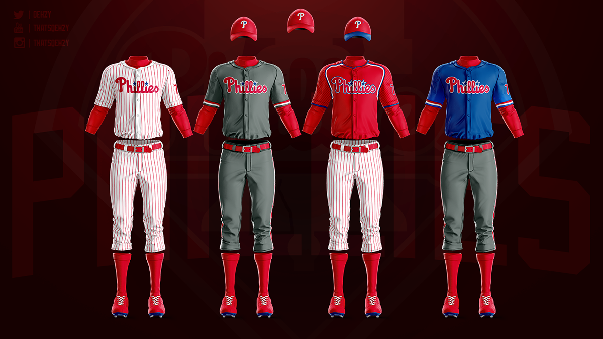 size 40 0dcae d9038 MLB Jerseys Redesigned on Behance