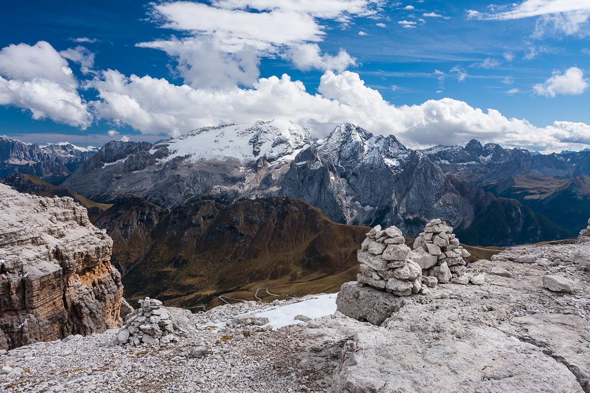 dolomites alps südtirol south tyrol mountain hiking Landscape Nature summer snow