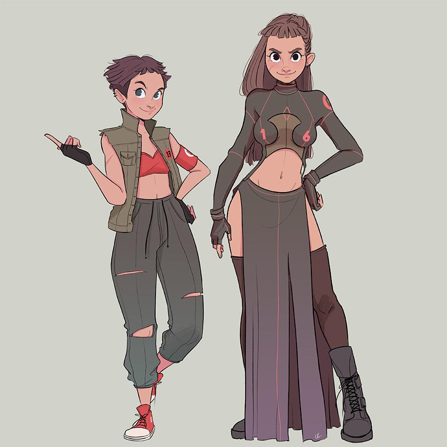 Character Design An Artist Resource : Character design oc warriors on behance