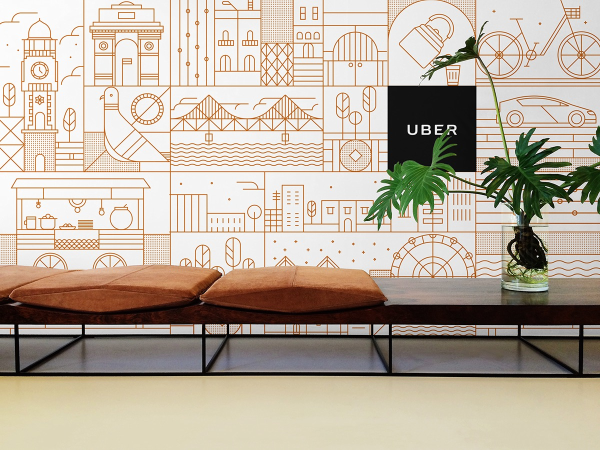 Uber office design Thailand Office Credits Uber Design Team For Certain Standardised Elements Brian Mcmullen And Uber Brand Marketing Team For Feedback And Direction Behance Uber On Behance