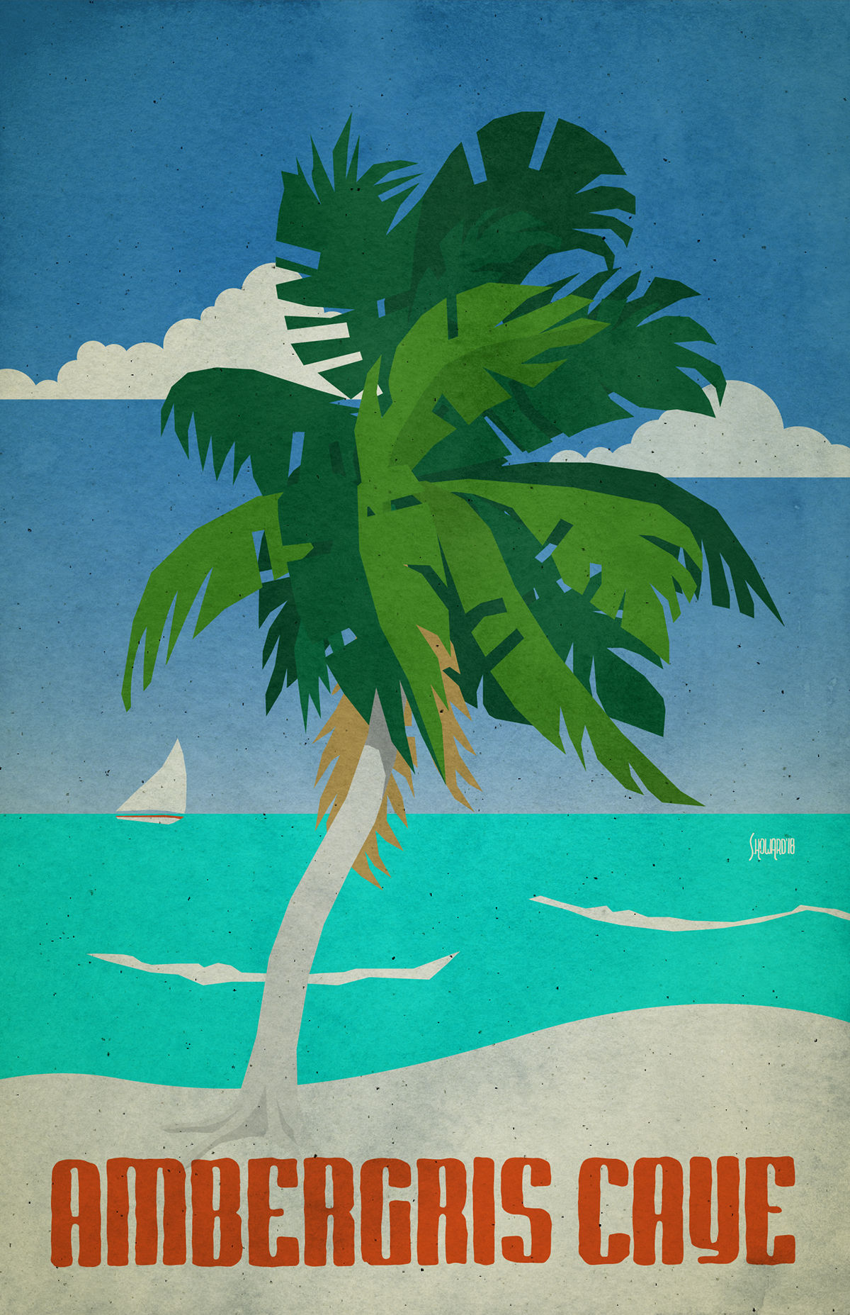 poster art plakatstil sachplakat Advertising  serigraph woodcut poster illustration watercolor lithograph Advertising Campaign