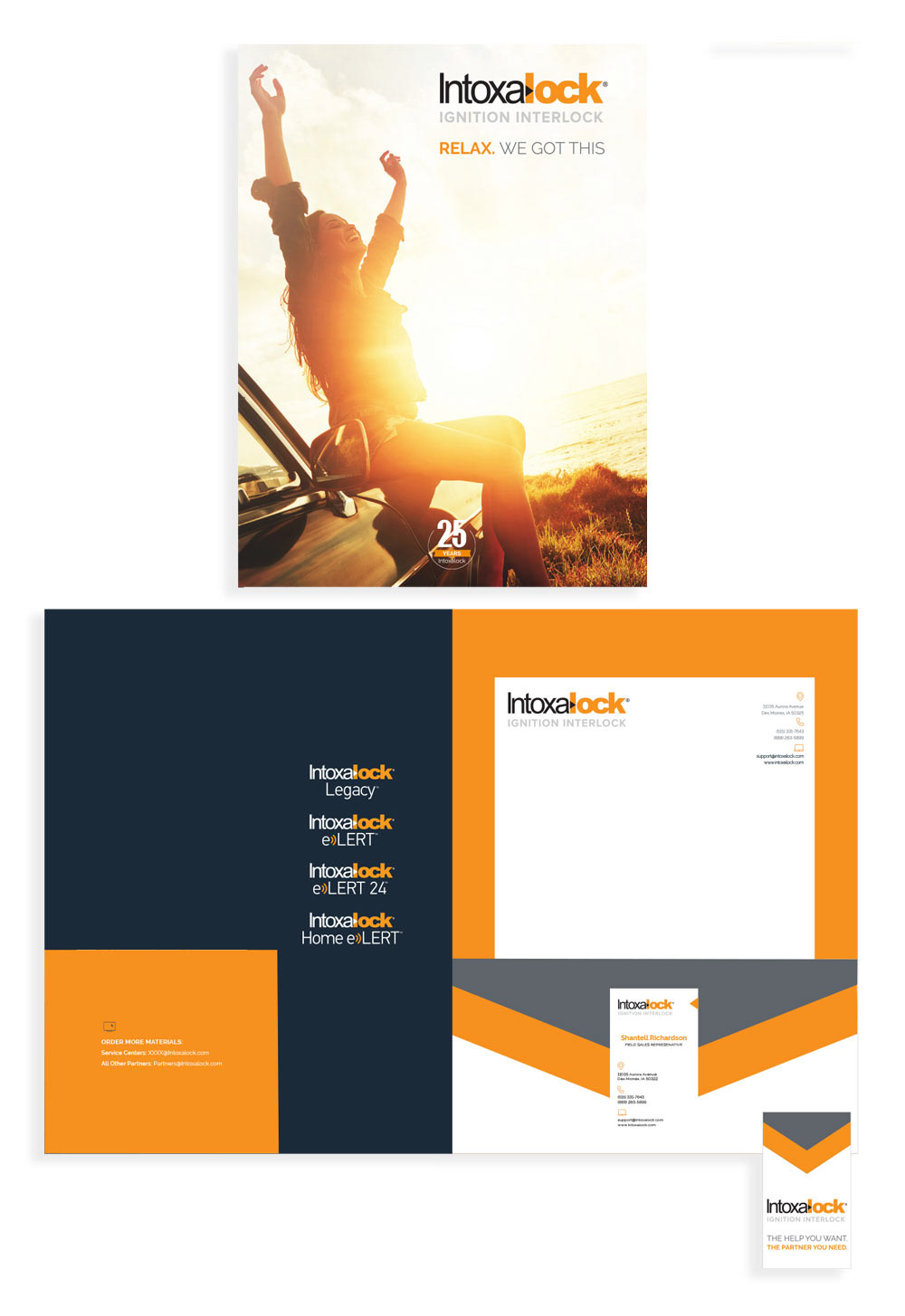 Corporate Collateral,graphic design ,art direction ,branding