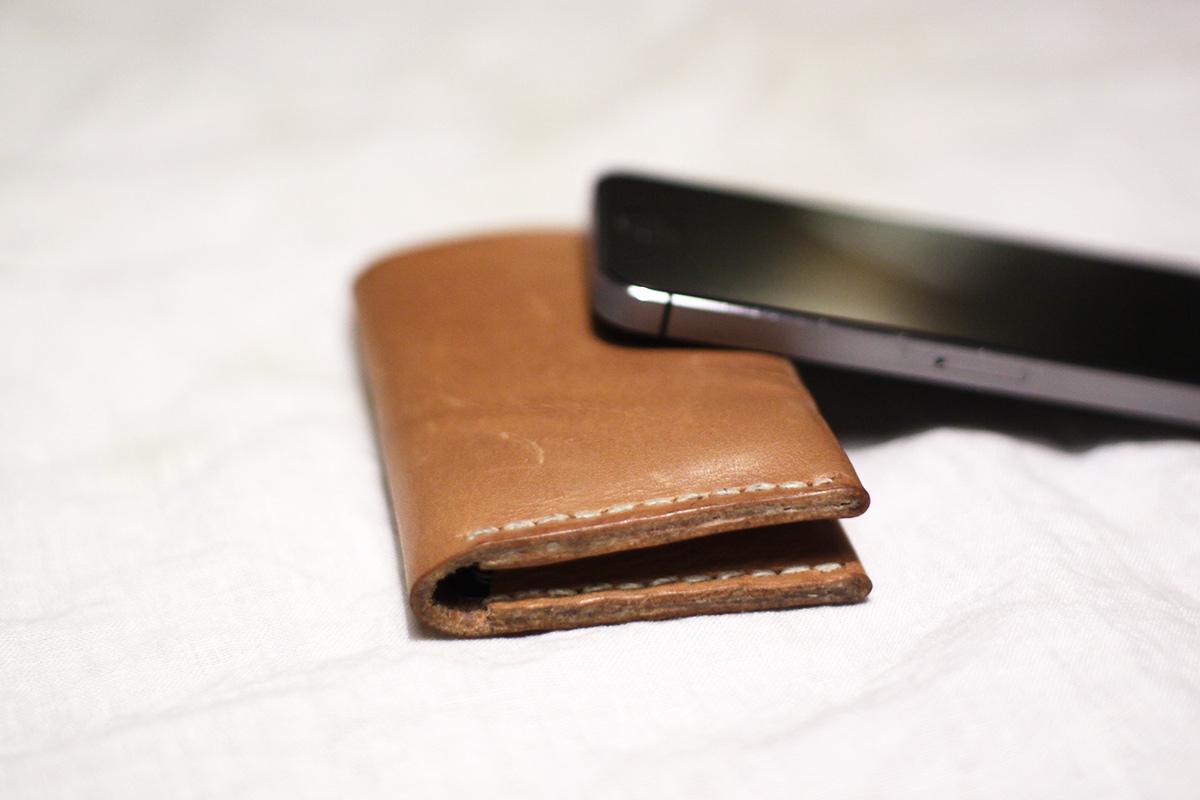 Sturdy, narrow wallet