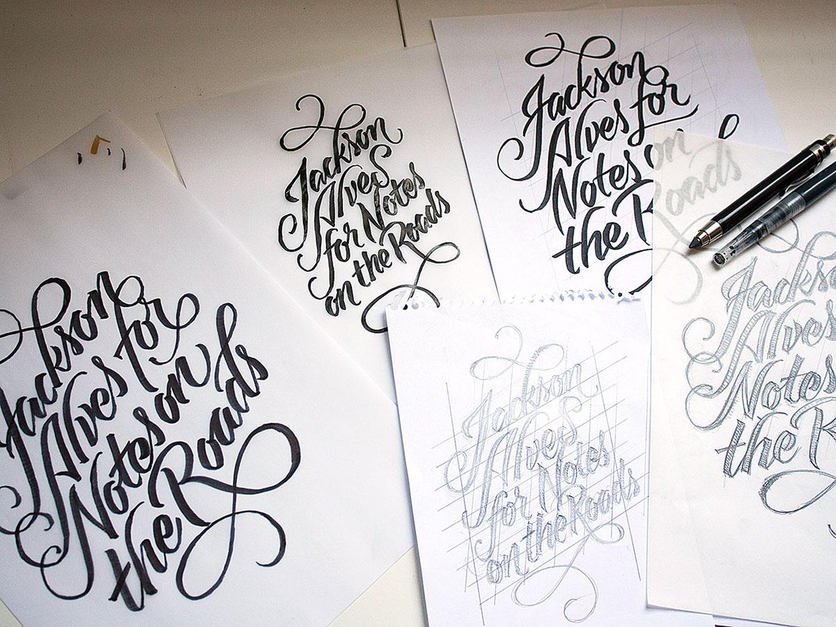 lettering Logo Design handwritten script logo brush-pen handmade caligrafia brand Logotype Logotipo Best of amazing