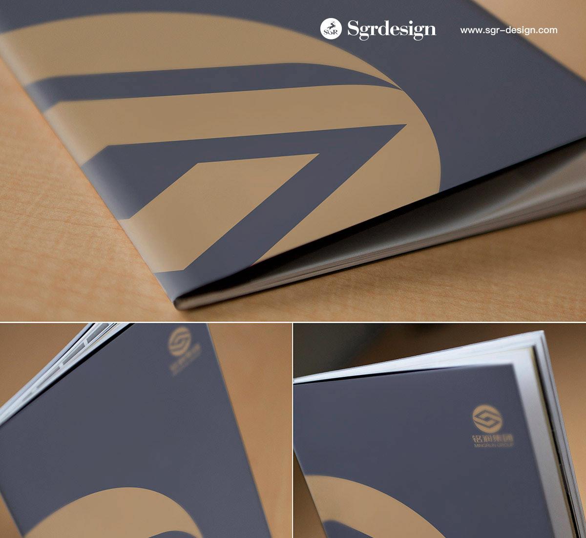 Catalogue brand sgr design real estate brochure 品牌 画册 宣传册 设计
