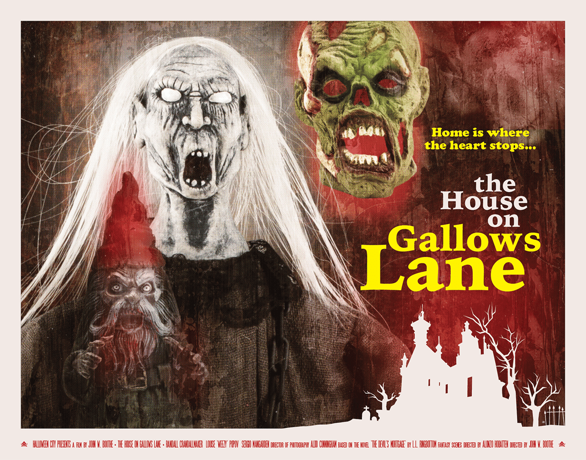 The House on Gallows Lane Movie Poster