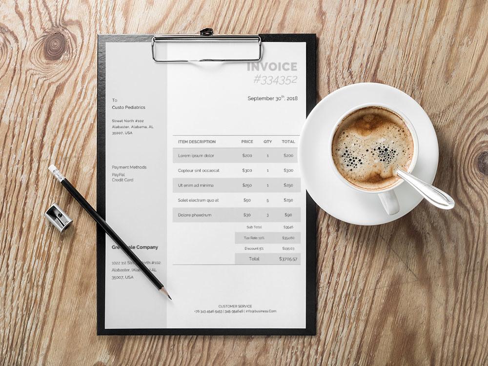 invoice free invoice template Invoice Design bill free bill template