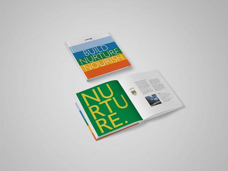 brochure branding  CSR Brand Guidlines Brand awaresness