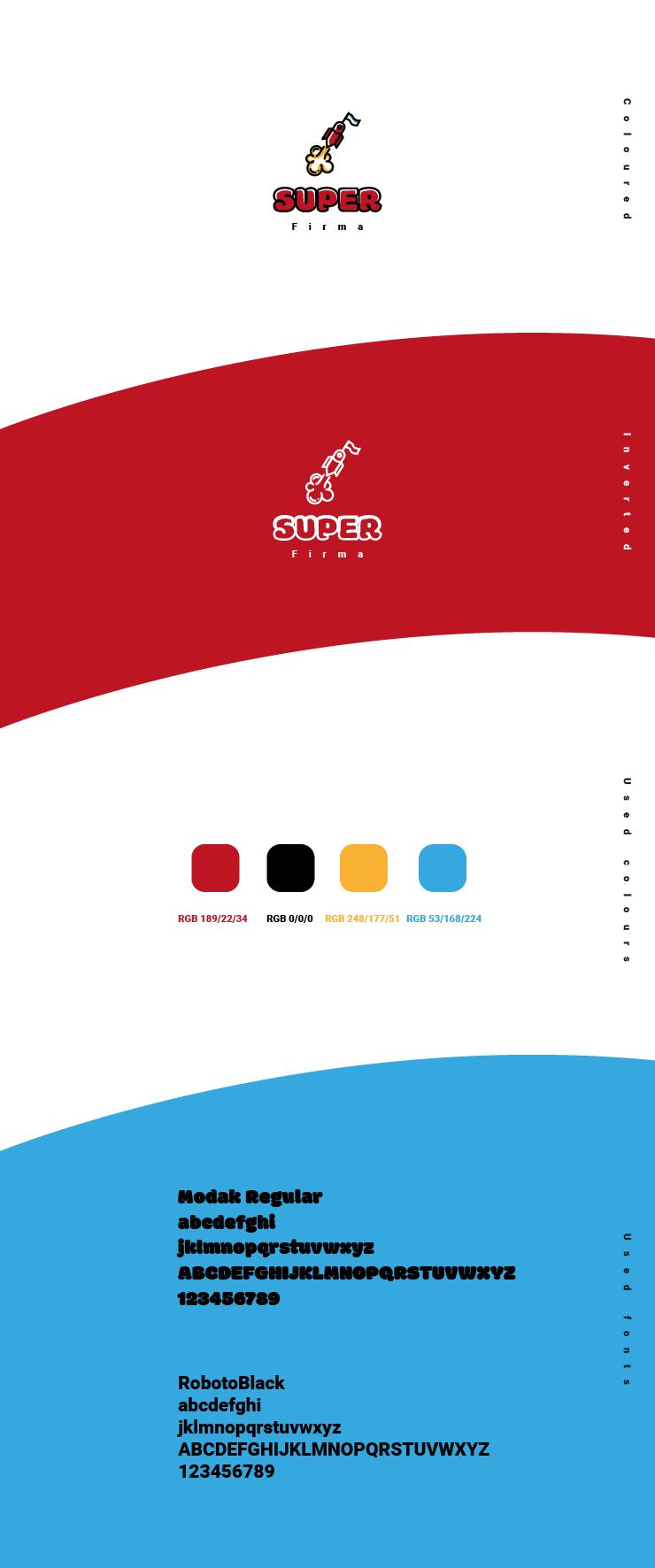 super firma IT company logo