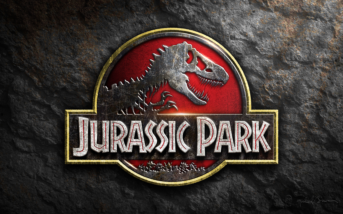 Jurassic Park logo desktop wallpaper on Behance