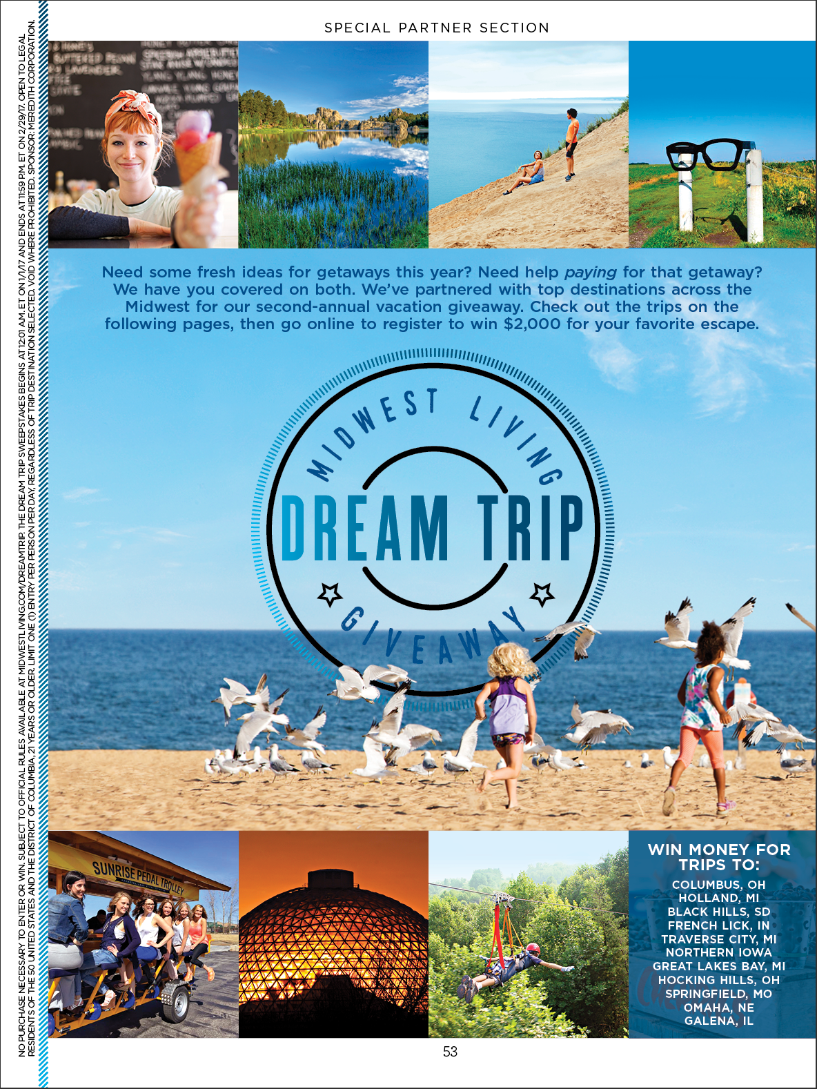 Meredith Travel Marketing Content Studio - Dream Trips