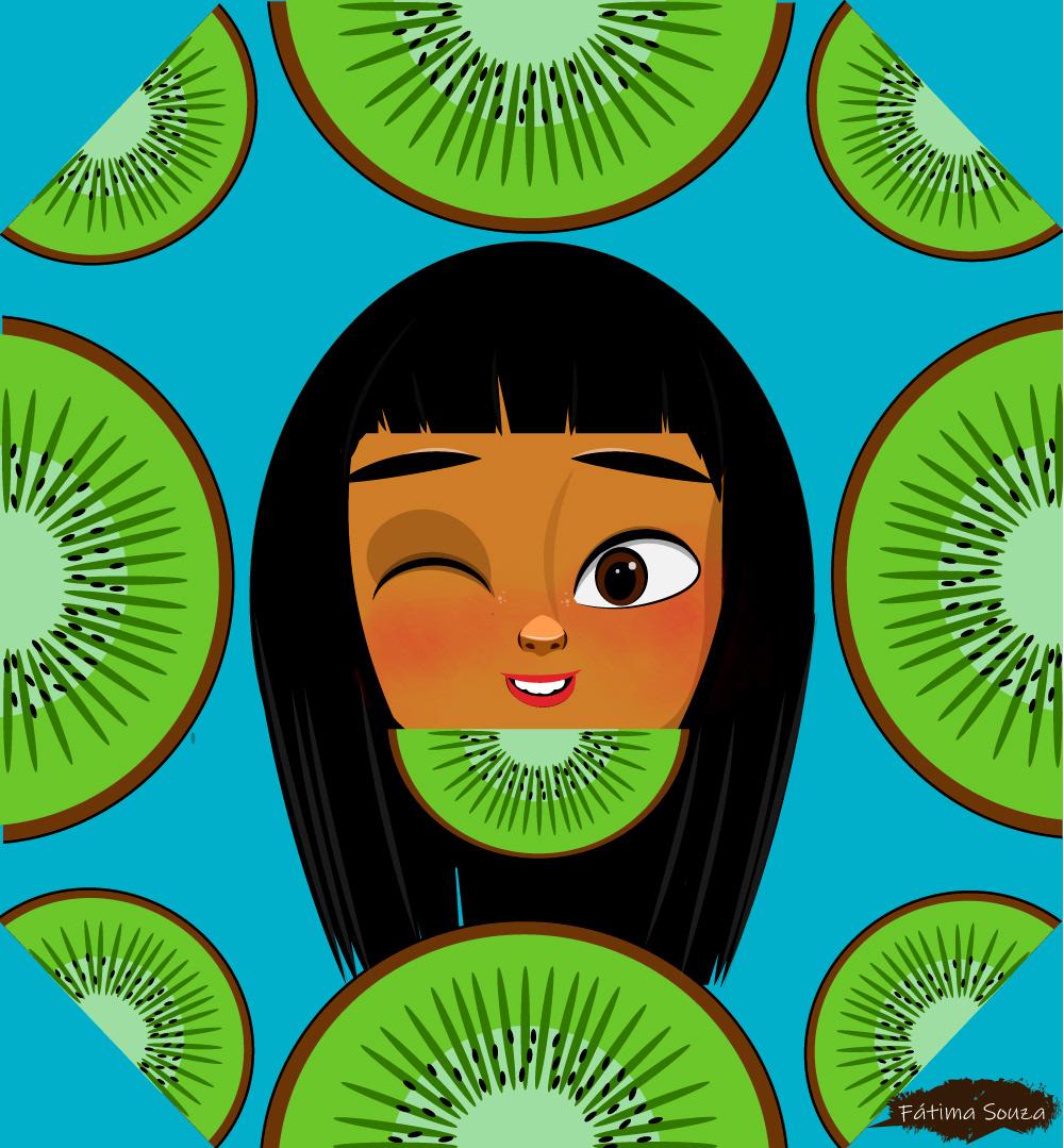 art artwork cartoon design fruits ILLUSTRATION