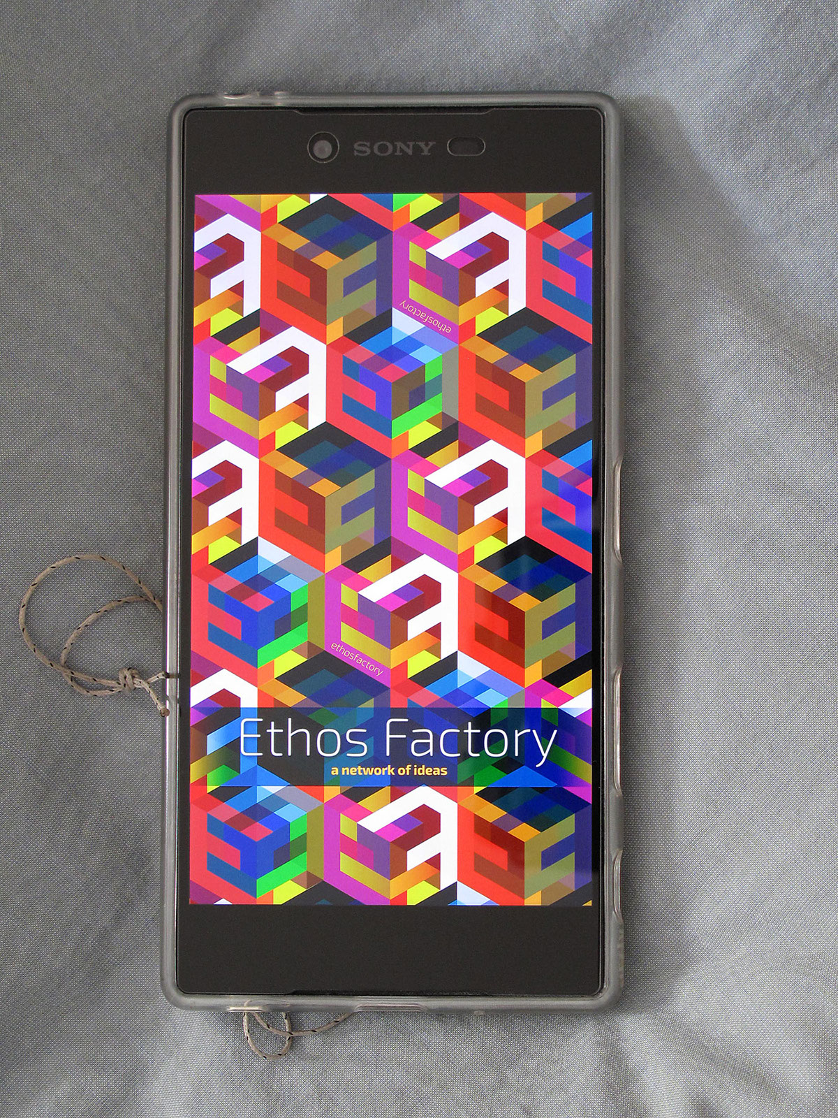 escher geometric pattern logo