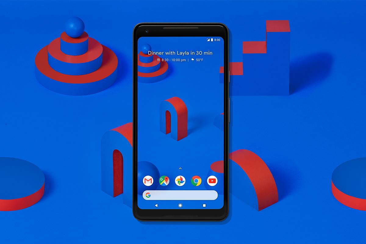 Google Pixel 2 on Behance