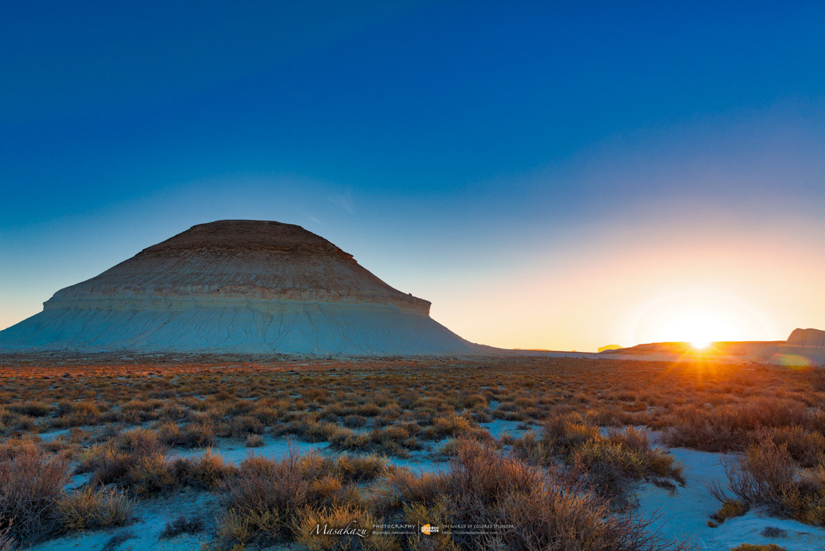 Mountain-Yurt in sunset splendor, Bazzhira on Behance