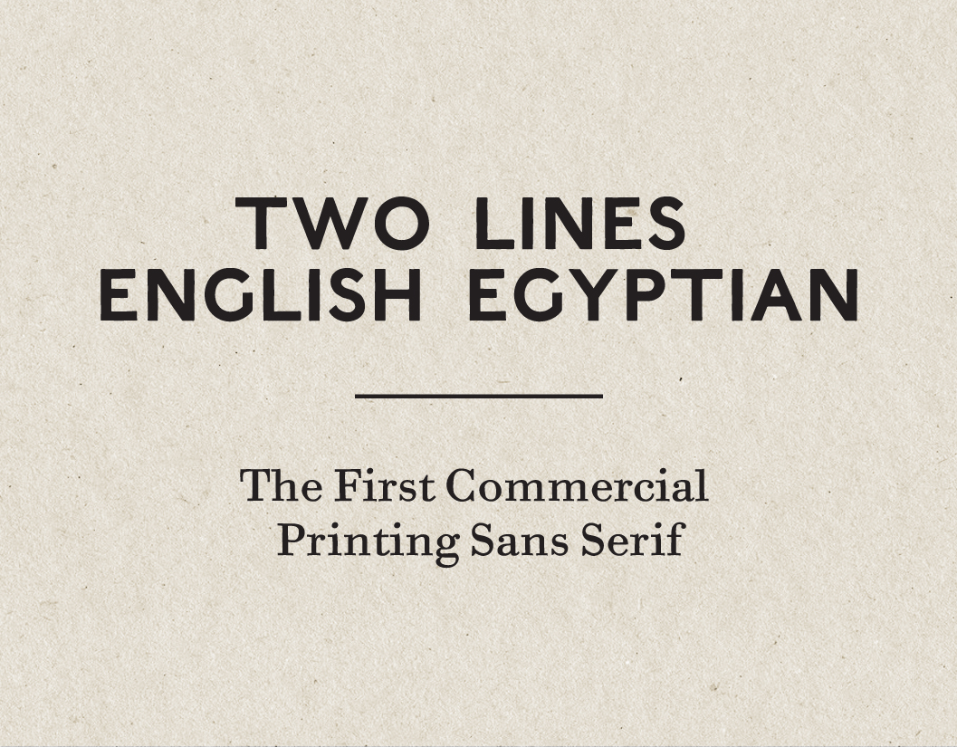 Two Lines English Egyptian Digital Revival on Behance