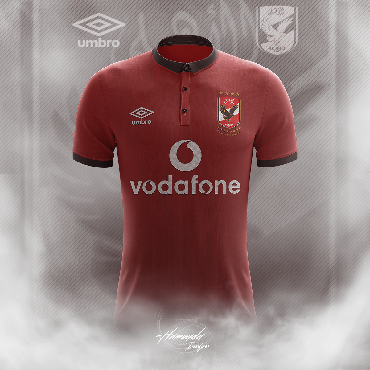 AL AHLY F.C - Football Concept Kit 2018 2019 on Student Show 312a61677