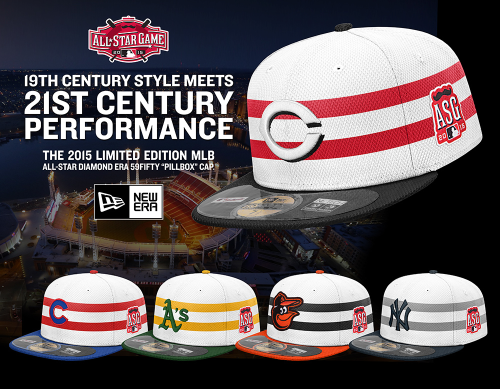 When Major League Baseball issued special All-Star hats for the 2014 game  in Minnesota, they were a huge success. The 2014 designs were based off an  old ...