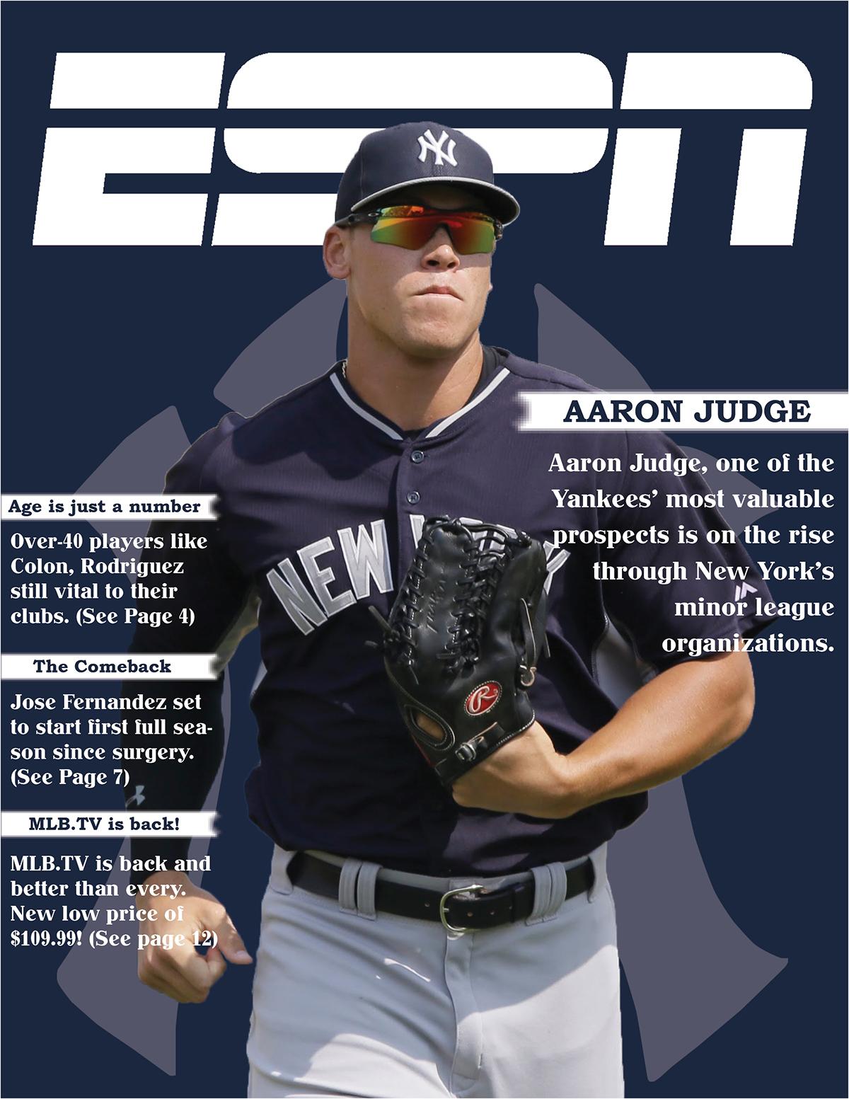 Espn Magazine Cover On Behance