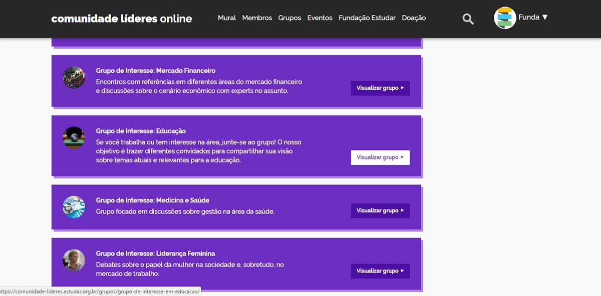 Fórum - Comunidade Líderes Online