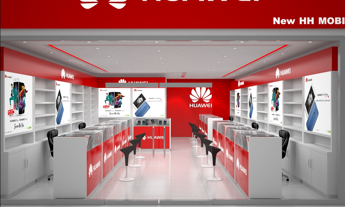 Huawei Brand Shop New Hh Mobile Sahiwal On Pantone Canvas Gallery