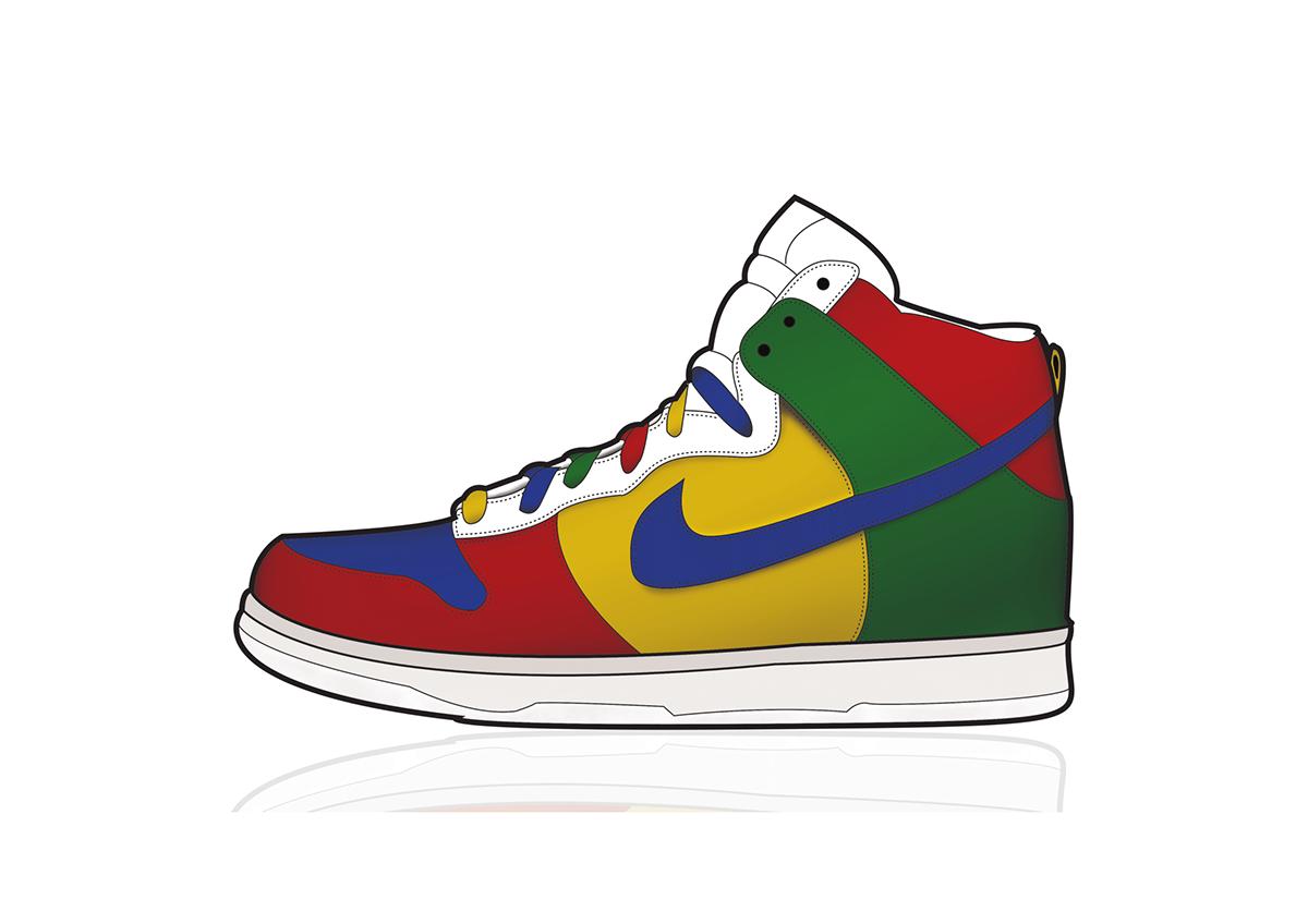 Nike,shoe,Illustrator